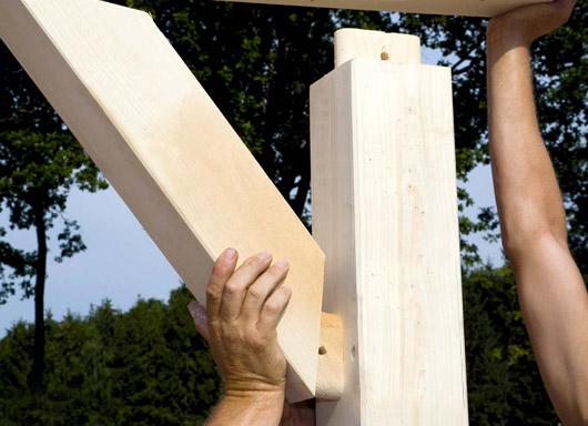 Terrassendach Veraskan 4025 Aus Holz Terrassendach Hersteller24