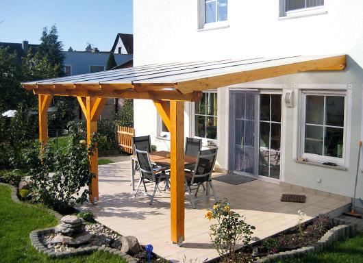 Terrassendach Veraskan 5030 Aus Holz Terrassendach Hersteller24